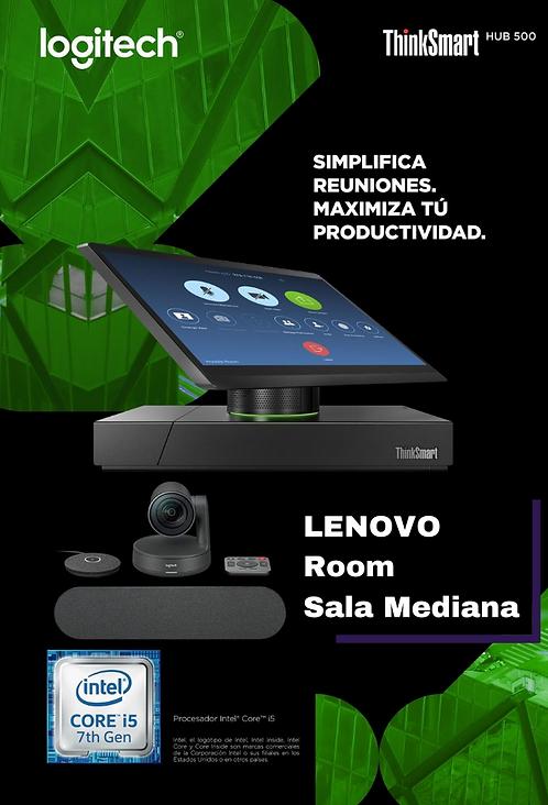 Lenovo Room Sala Mediana (Smart Hub 500 + Rally Family ) For Microsoft Teams