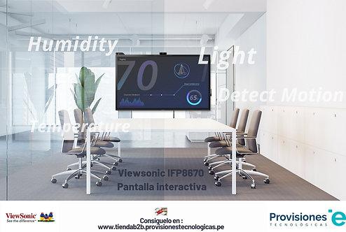 Viewsonic IFP8670 Pantalla interactiva