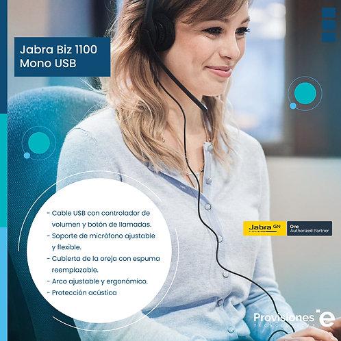 Jabra BIZ 1100 Mono - USB