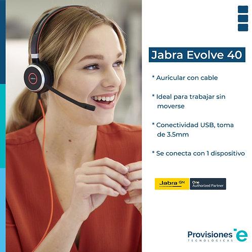 Jabra Evolve 40 UC USB