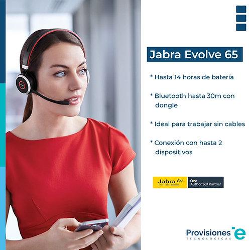 Jabra Headset Evolve 65 UC Duo