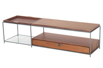 Mesa de centro Tum tampo madeira