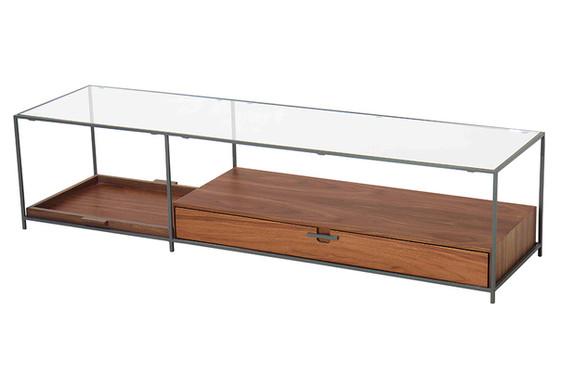 Mesa de centro Tum tampo vidro