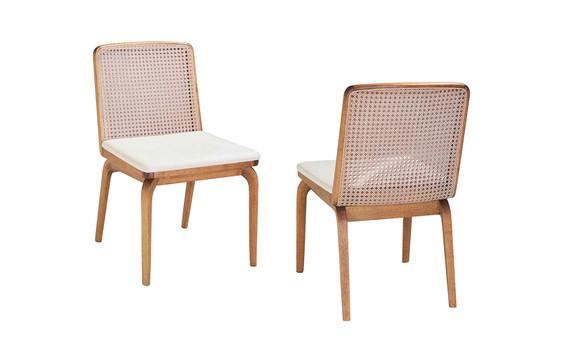 Cadeira Yoko com palha