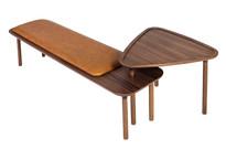 Banco Ela com mesa lateral acoplada
