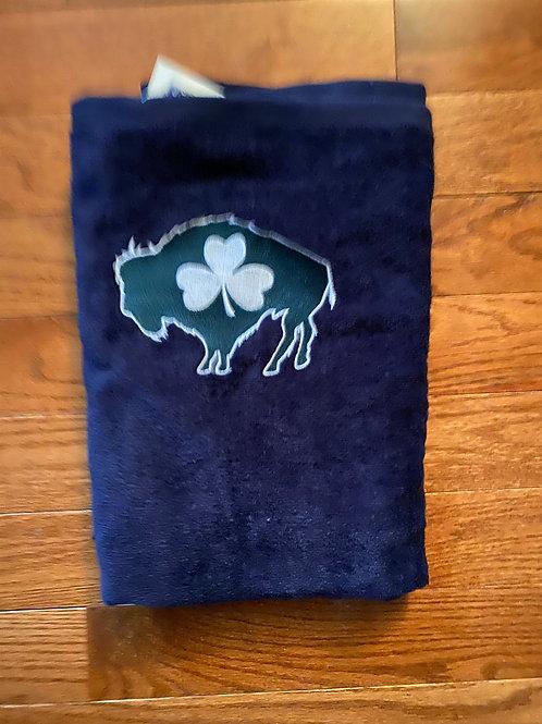 Shamrock Beach Towel