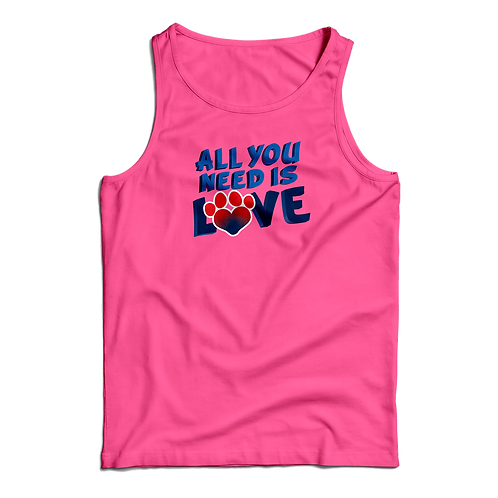 Tank Top - All You Need Is Love