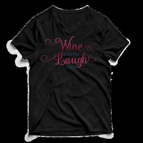 Wine A Little - V-Neck