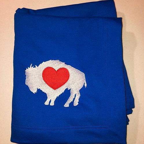 Buffalove Blue - Embroidered