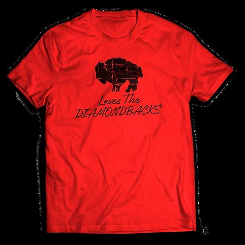 Buffalo Loves Diamondbacks - Crew Neck