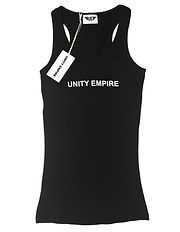 Black Racerback Tank - Trademark Sample