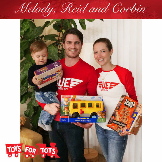 Melody Reid and Corbin Toys for Tots.jpg