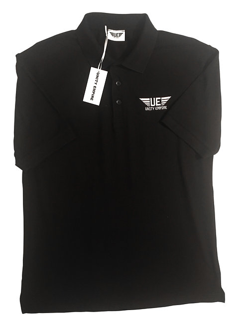 Black Unity Empire Polo Shirt