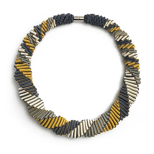 4-color Yellow necklace