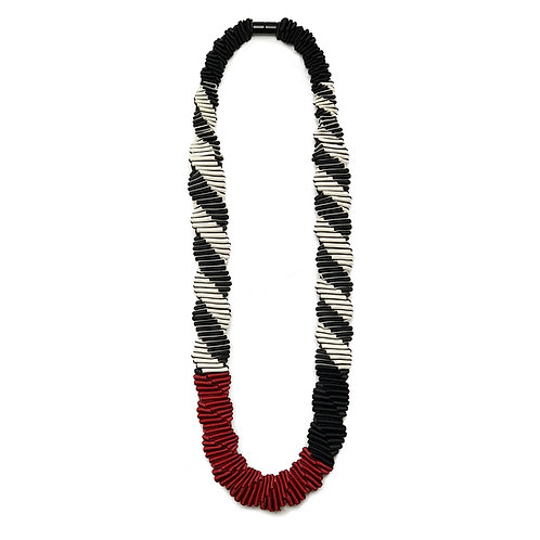 Mondrian Red necklace