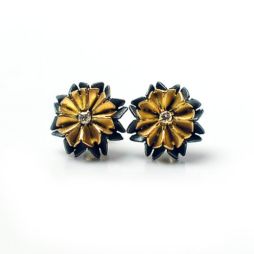 Origami earrings 003