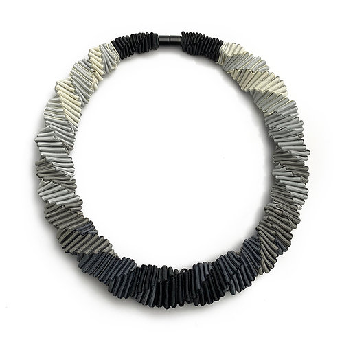 Ombre Gray necklace