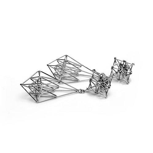 Kaleidoscope earrings 003