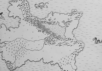 #mapmaking #progress #fantasy #worldbuil