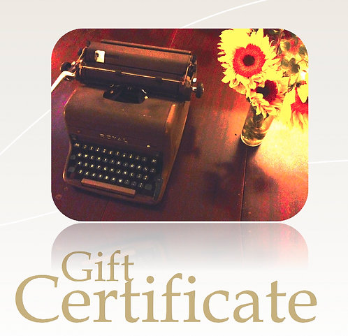 The Lit House Gift Certificate