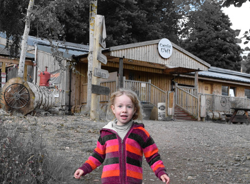 The Wonderful Comrie Croft - it's open again!