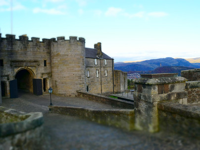 Stirling Castle and the Philosoher's Stone  - (and his subsequent plummet to earth).