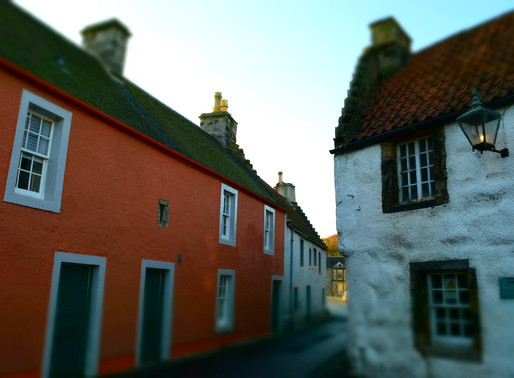 A Visit to Culross - how timeless is it really?