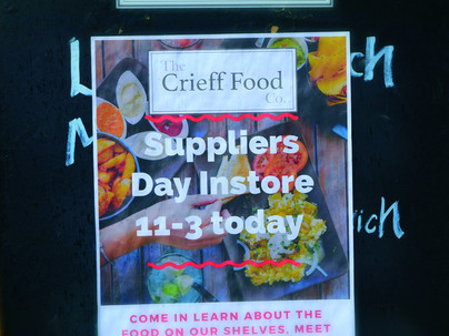 Suppliers' Day at The Crieff Food Co.