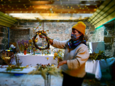 Holding Autumn: Tomnah'a share their skills and flowers