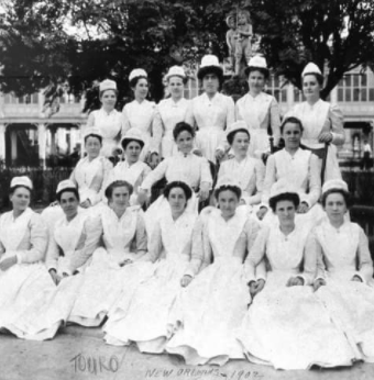 terri's greatgrandmother in nursing scho