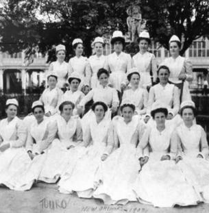 terri's greatgrandmother in nursing scho