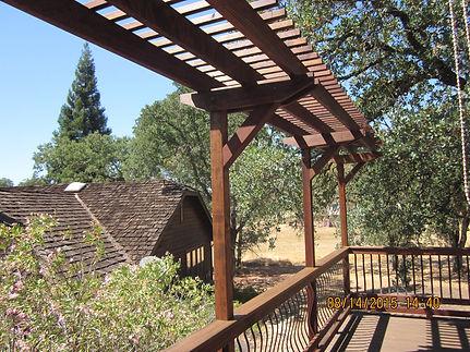 Redwood Trellis. Sacramento, CA