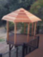 RedwoodPatio Roof. El Dorado Hills, CA