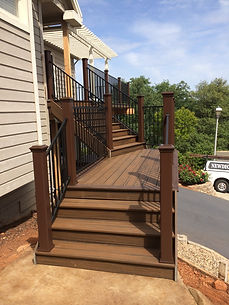 Trex Stairs in Deck File