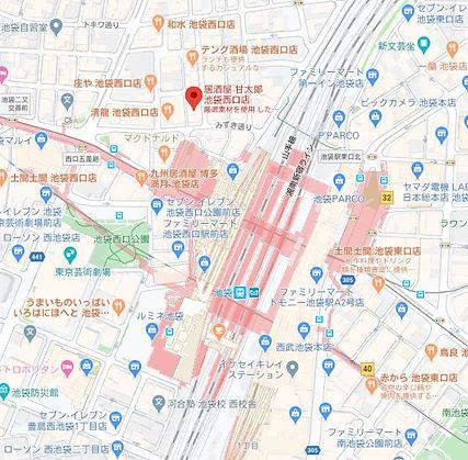 甘太郎池袋西口地図.JPG