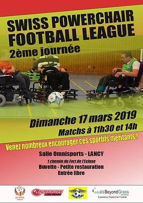 Affiche Swiss Powerchair Football 17.03.