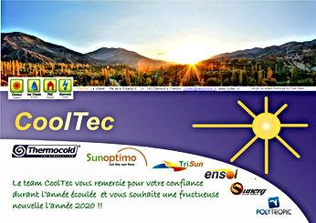 Carte de voeuxCoolTec 2020 - pro du sola