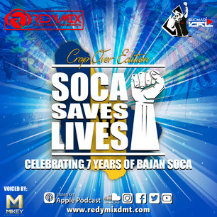 SOCA SAVES LIVES: THE CROPOVER EDITION