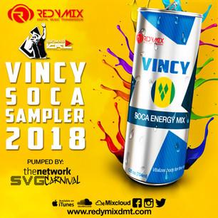 VINCY SOCA SAMPLER  2018: 784ML FORTIFIED WITH VITAMINS S, V & G!!!