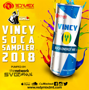 VINCY SOCA SAMPLER  2018: 784ML FORTIFIED WITH VITAMINS S, V & G!!!