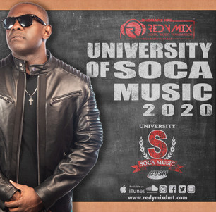 NEW MIX ALERT!!  THE UNIVERSITY OF SOCA MUSIC (USM) 2020