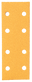 TIRA ABRASIVA F1 GOLD LINE 70 MM X 198 M