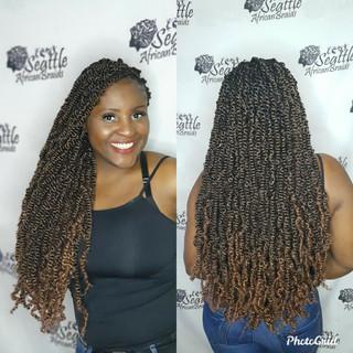 Queen braids