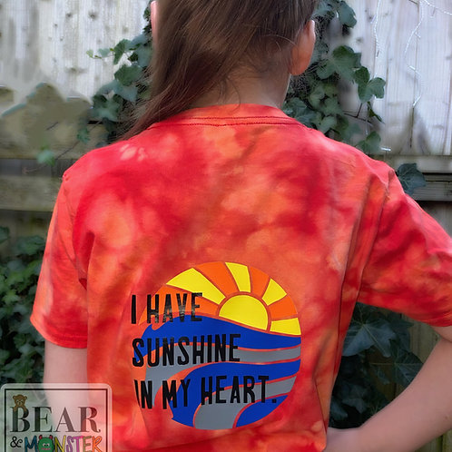 I HAVE SUNSHINE IN MY HEART TEE.