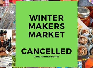 Winter Makers Market CANCELLED