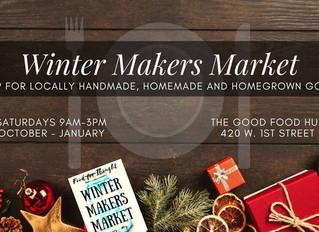 Winter Makers Market Kicks-off in October