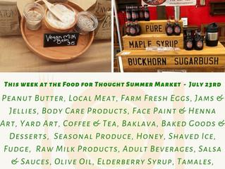 Summer Market 7/23