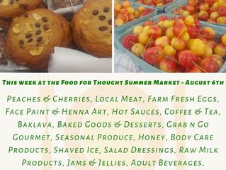 Summer Market 8/6