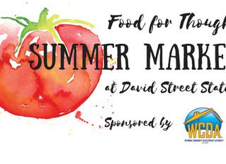 Summer Market Season is Almost Here!