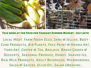 Summer Market 7/30